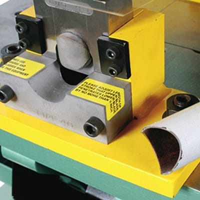 Piranha Tooling - Pipe Tube Notching Attachment