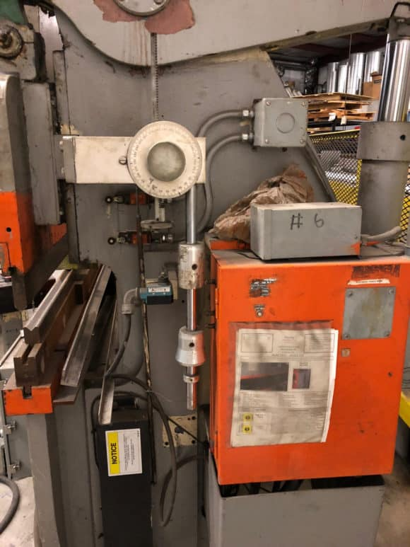 Accurpress-76010-Hydraulic-Press-Brake-used